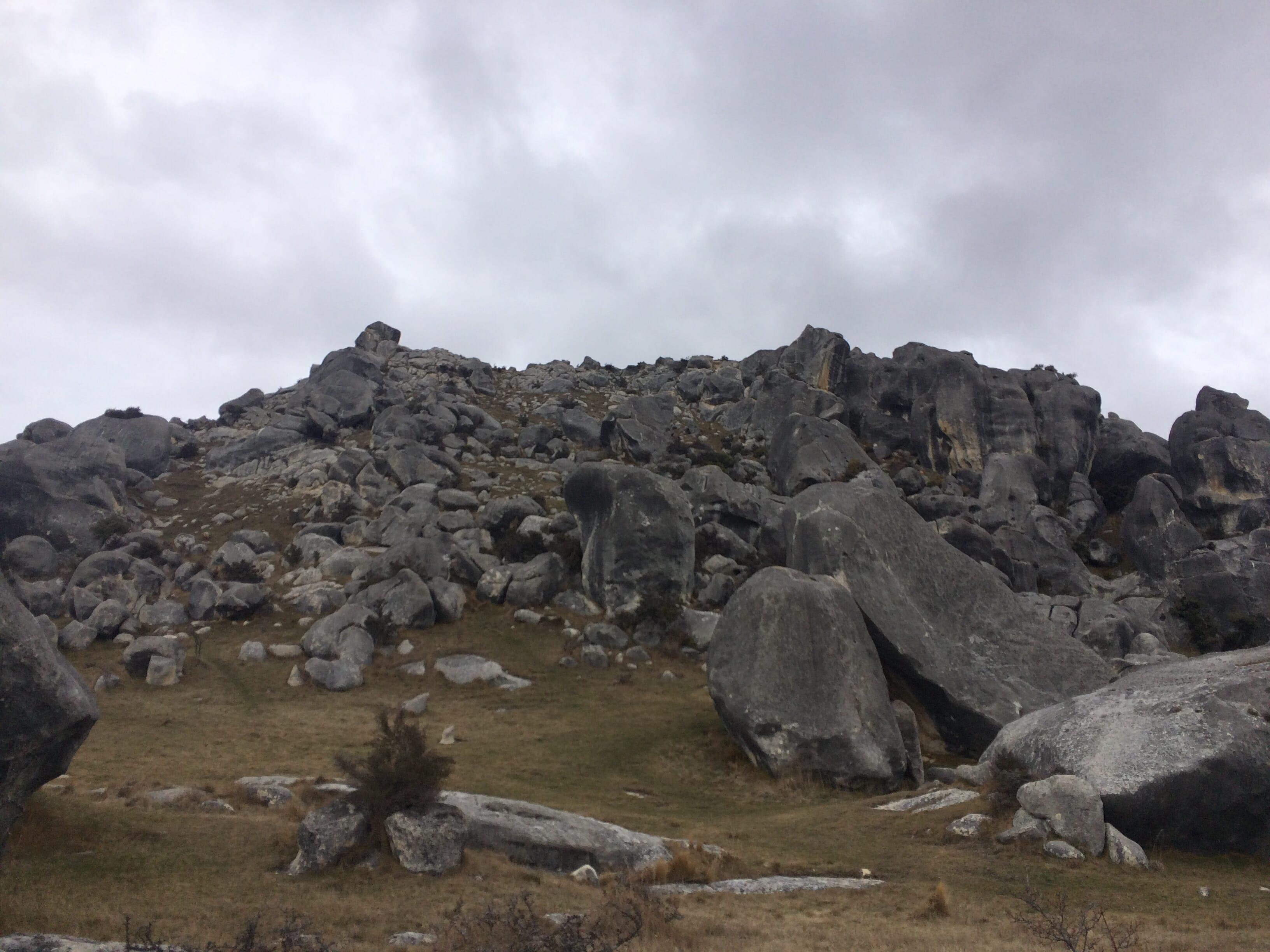 キャッスルヒル(Castle Hill) NZ ワーホリ クライミング