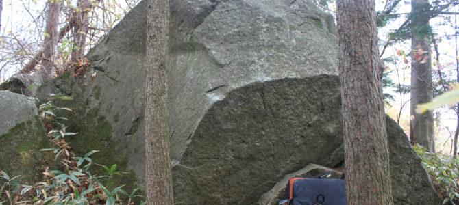 もののけ岩登攀記録 有珠 ボルダリング
